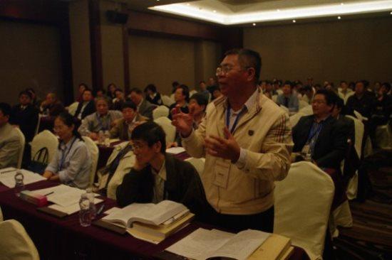 華南師範大學政治與行政學院周熾成教授發言指向正體字問題